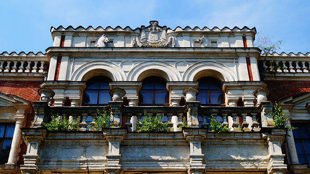 Russia, The Façade Of The, Architecture, Sights, Window
