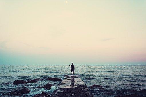Nature, Landscape, Dock, Water, Ocean, Sea, Beach