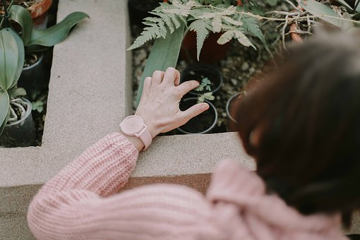 People, Old, Woman, Sweater, Watch, Time, Accessories