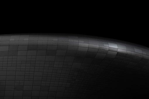 Black, Curves, Lines, Dark, Architecture, Design