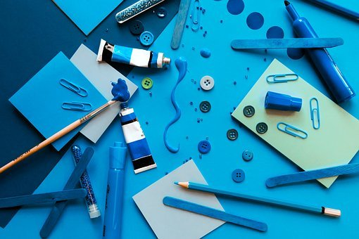 Art, Craft, Design, Paper, Hobby, Color, Table, White