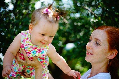 Girl, Baby, Small Child, Childhood, Kid, Family, Joy