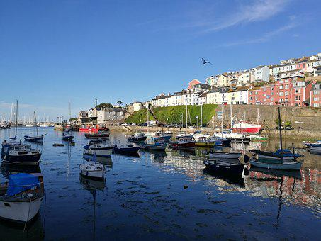 Brixham, Harbour, Devon, Fishing, Boat, Quay