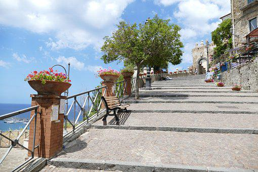 Italy, Cilento, Agropoli, City, Historically, Mountain