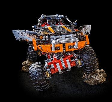Monster Truck, Lego Technic, Technic, Lego, Technology