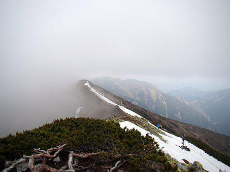 Mountains, The Fog, Clouds, Tatry, Poland, Hiking Trail