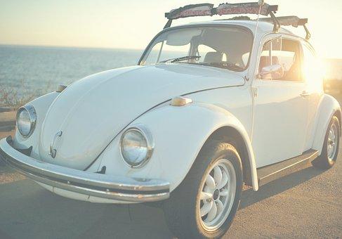 Car, Vehicle, Transportation, Old, Vintage, Volkswagen