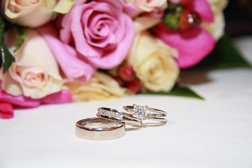 Unity, Love, Marriage, Ring, Wedding, Flowers, Family