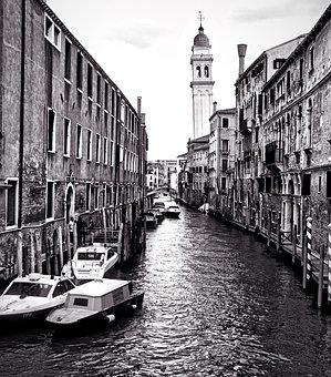 Venice, Canal, Venetian, Italy, Travel, Water, Tourism