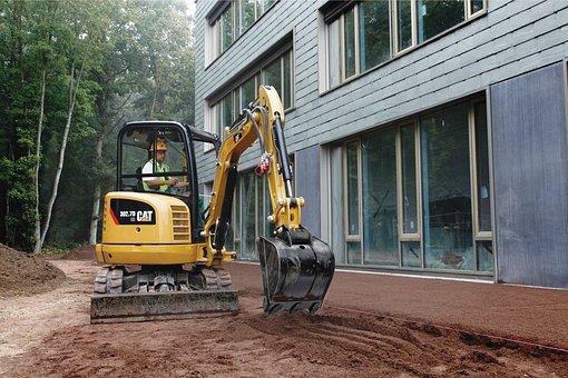 Cat, 302, 7d, Mini Excavator, Caterpillar