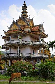 Temple, Buddhist, Buddhism, Asia, Religion, Sacred