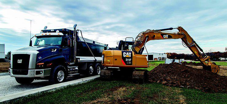 Earth, 311f, Hydraulic, Excavators, Cat, Caterpillar