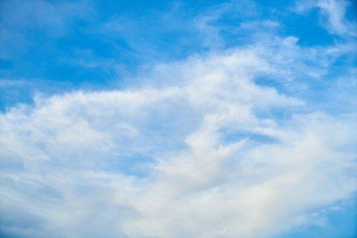 Cloud, Blue, Composition, Sky, Clouds, White