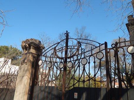 Gate, Iron Gate, Design, Input, Forging