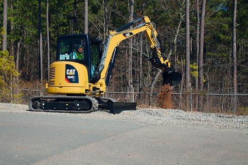 Earth, 304e, Hydraulic, Excavators, Cat, Caterpillar