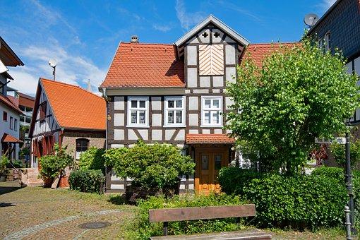 Gelnhausen, Hesse, Germany, Old Building