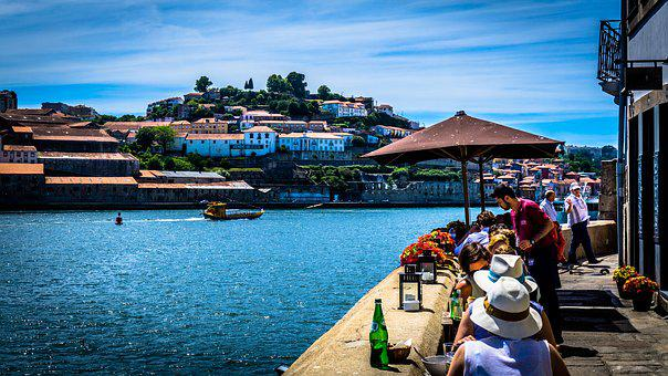 Porto, River, Eat, Portugal, Old Town, Tourism, Hill