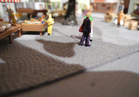 Model Train, H0, Scale H0, Hobby, Market, Human