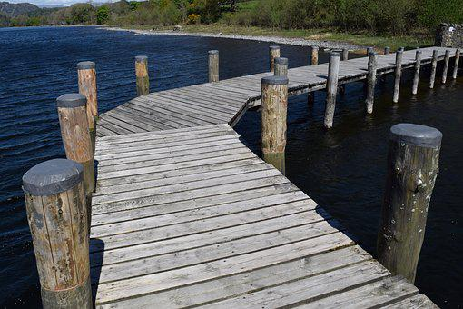 Jetty, Curve, Water