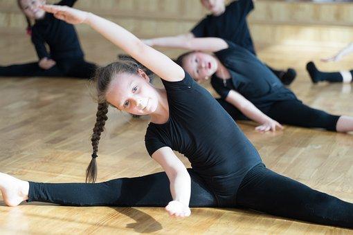 Kids, Gymnastics, Sports Dance, Training, Boy