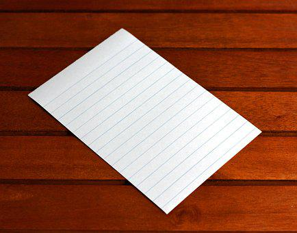 Note, Paper, Post It, Blank, Message, Page, Memo, Pad