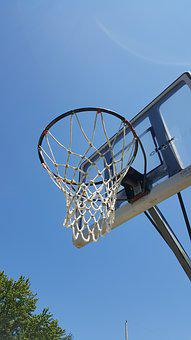 Basketball, Hoop, Net, Sport, Ball, Game, Basket