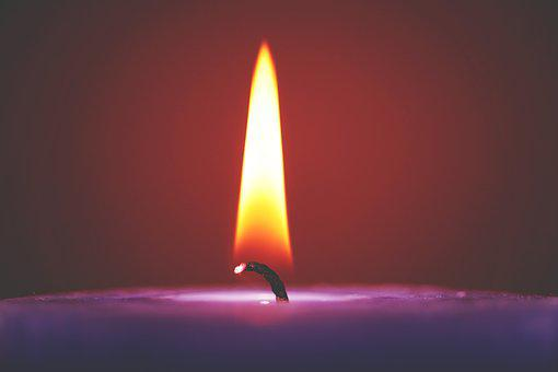 Candle, Light, Fire, Flame, Dark