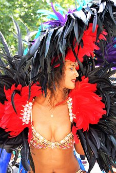 Carnival, Headgear, Costume, Festival, Notting Hill