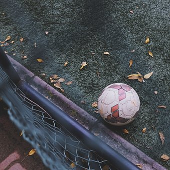 Ball, Sport, Hobby, Football, Game, Court, Barrier