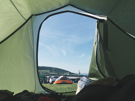 Green, Tent, Camping, Outdoor, Travel, Adventure, Grass