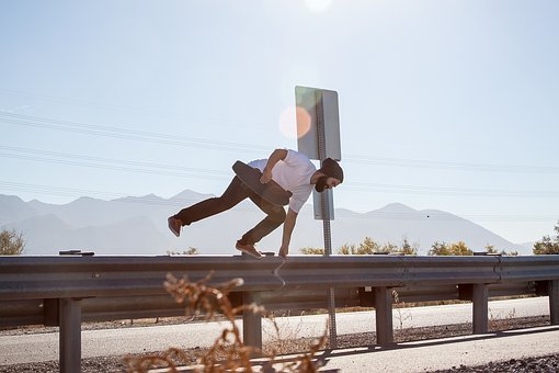 People, Man, Guy, Skateboard, Sport, Game, Adventure