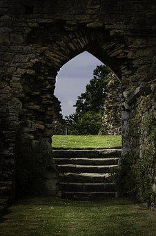 Ruins, Ancient, Building, History, Old, Stone