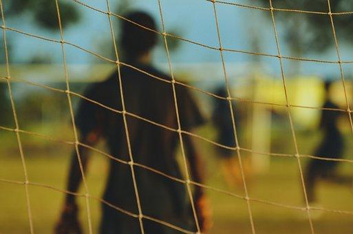 People, Man, Guy, Sport, Game, Play, Net