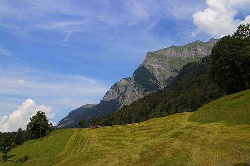 S, Mountain, Swiss, Alps, Heidi Village, Heidi