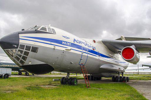 Plane, The Il-76, Transport, Military, Exhibit, Museum