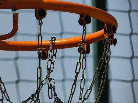 Basketball, Ring, Sky, Sports