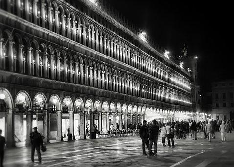 Venice, Italy, St Mark's Square, Travel, Europe, Canal