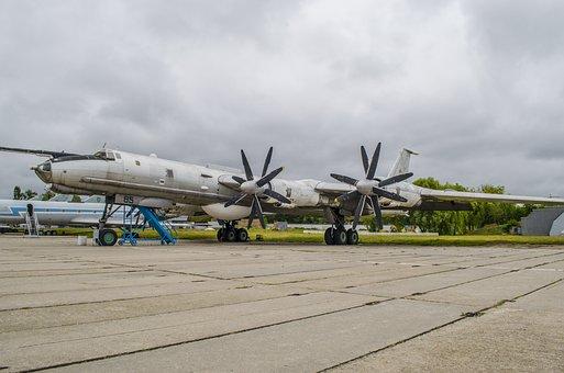 Plane, Long-range Aviation, Tupolev, Exhibit, Museum