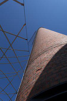 Chimney, Factory Chimney, Factory, Industry