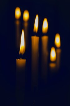 Candle, Flame, Light, Dark