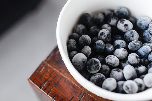 Blueberry, Fruit, Food, Dessert, Bowl