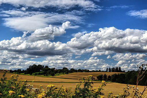 Foresight, Wide, Romance, Clouds, Unreal, Cloudiness
