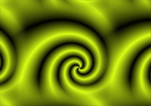 Background, Green, Snail, Background Image, Digital