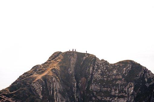 People, Man, Woman, Lady, Guy, Mountain, Nature