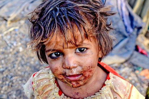 Slums, India, Poor, Asia, Street, People, Poverty, Girl