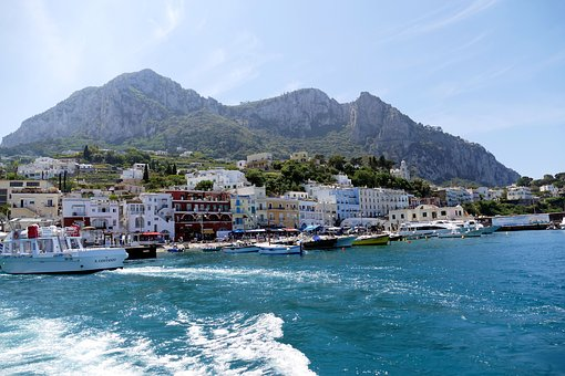 Capri, Italy, Mediterranean, Coast, Island, Nature