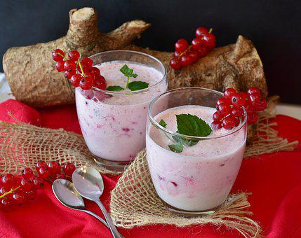 Milk, Shake, Milkshake, Drink, Berry Shake