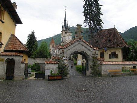 Romania, Brasov, St, Nicholas, Church, Travel