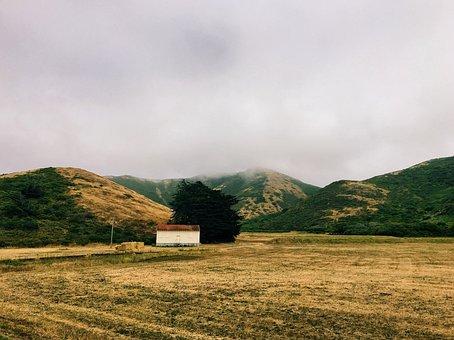 Mountain, Highland, Cloud, Sky, Landscape, Nature