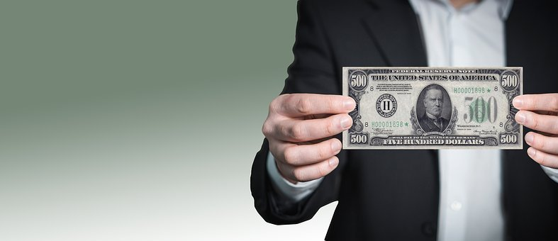 Dollar, List, Note, Office, Business, Suit, Businessman